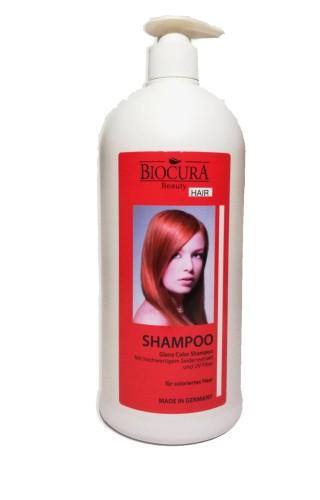Biocura Beauty Glanz Color šampūnas dažytiems plaukams 1000ml