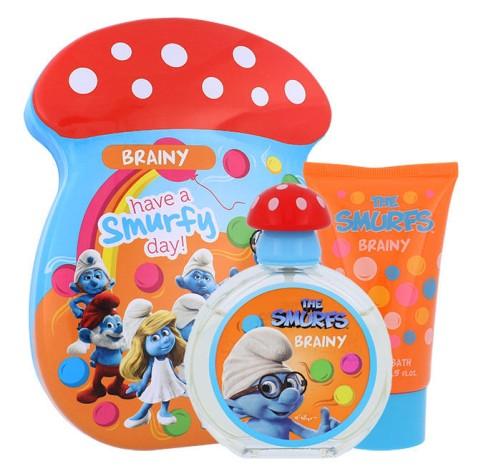 The Smurfs Brainy kūno priežiūros rinkinys 50ml+75ml