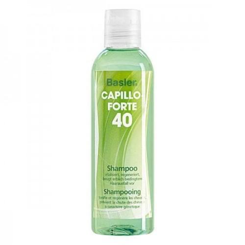 Basler Capillo Forte šampūnas nuo slinkimo skatinantis plaukų augimą 200ml