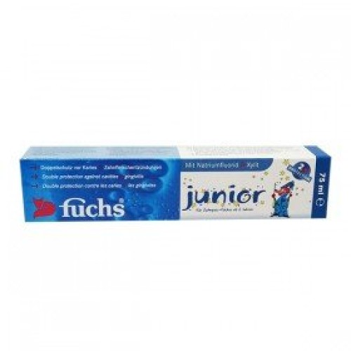 Fuchs Junior dantų pasta vaikams 75 ml