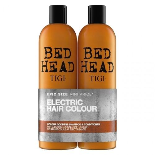 TIGI šampūnas ir kondicionierius dažytiems plaukams 2x750ml